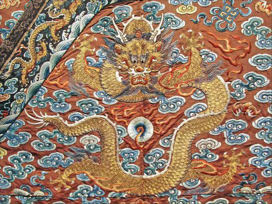 中国的高官长袍