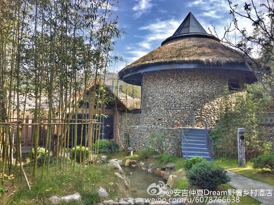 安吉仲夏Dream野奢乡村酒店 图片源自酒店官方微博