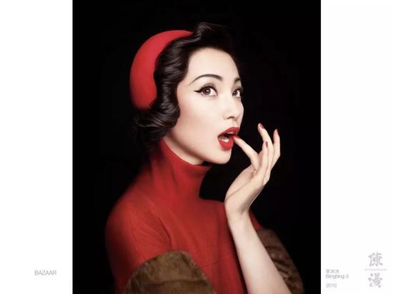 2010年的全球最佳封面,小红帽李冰冰