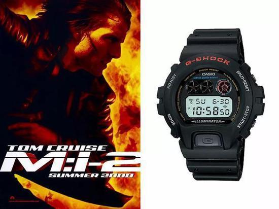 《碟中谍3》中阿汤哥十年如一日地戴着他的G-Shock MTG-910D。