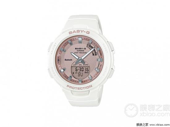 卡西欧BABY-G运动系列腕表(编号:BSA-B100MF-7A)