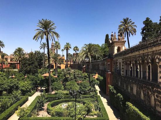 塞维利亚王宫(Alcazar de Sevilla),西班牙塞维利亚