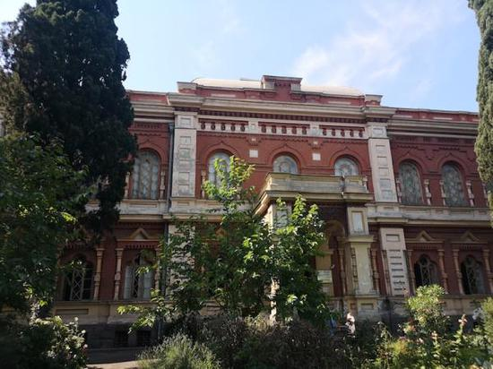 格鲁吉亚国立丝绸博物馆外景