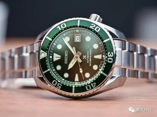 精工新款绿色小MMSBDC081