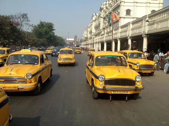 △印度的出租车