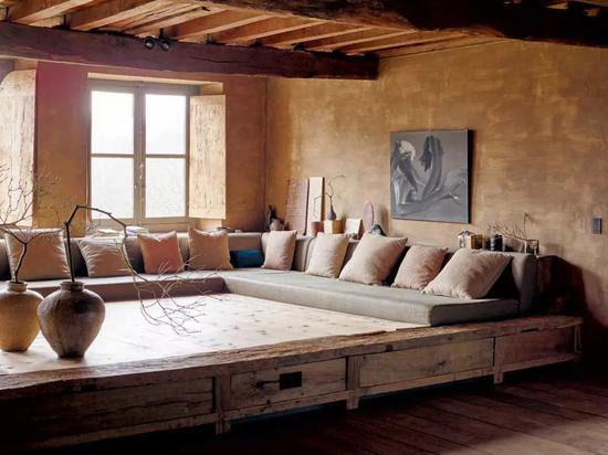 ▲ 他也有酒店作品哦,格林威治酒店顶层TriBeCa阁楼套房就是他的作品,每晚的房价要价15,000美金!