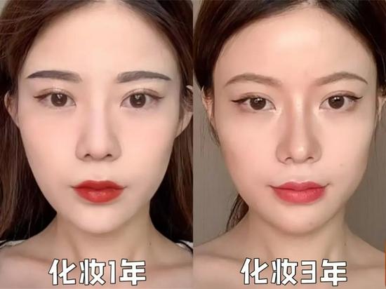 同样是化妆好几年 为什么你的妆容变化不大?