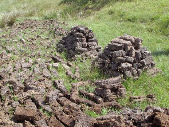 泥煤堆(在阿贝附近)