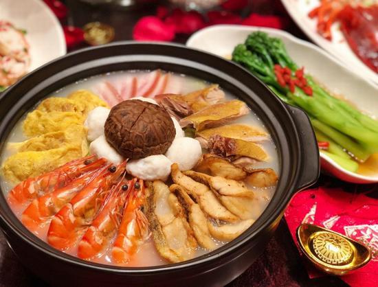 上海卓美亚喜玛拉雅酒店年夜饭 图片源自品牌
