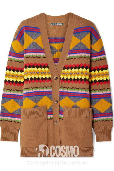 """刘雯这件毛衣好神奇 看着看着就""""真香""""了"""