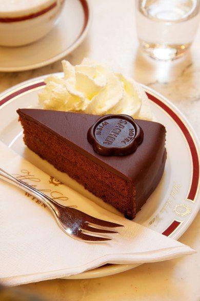 萨赫蛋糕 图片来源自Condé Nast Traveler