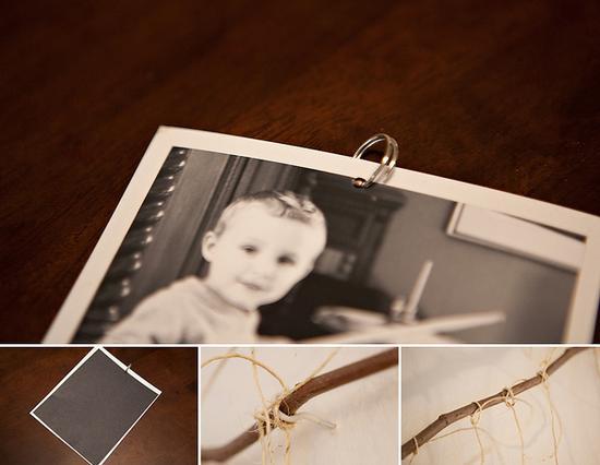 照片墙制作方法 图片来源自brethurston.com