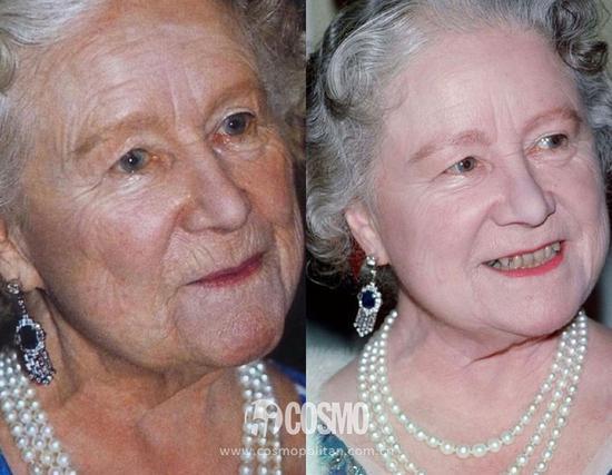 伊丽莎白王太后、伊丽莎白女王