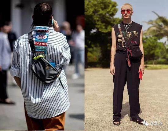 以及复古回潮的Dior马鞍包,腰包款更加个性时髦。