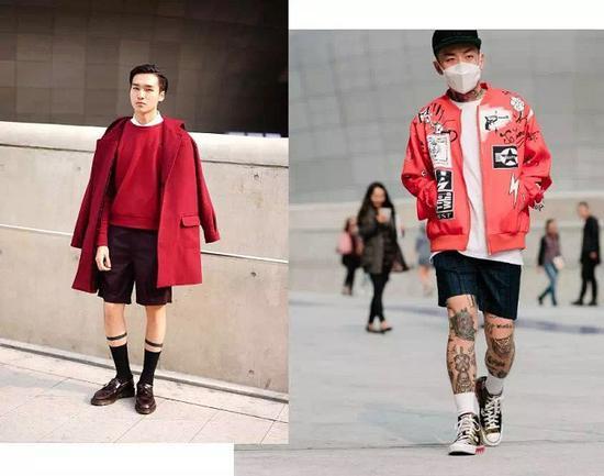 短裤 + 袜子,感觉自己时髦得飞起?