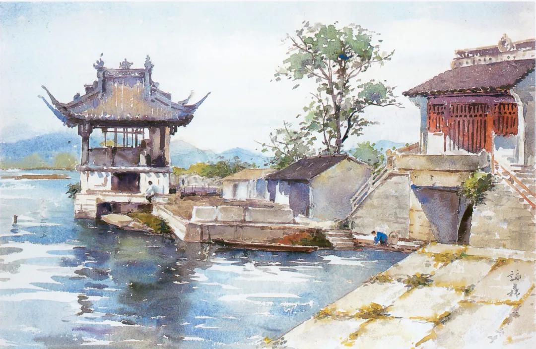 一个多世纪以来水彩画的变迁