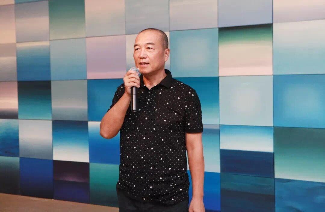 原国防科技大学副政委李宁少将致辞