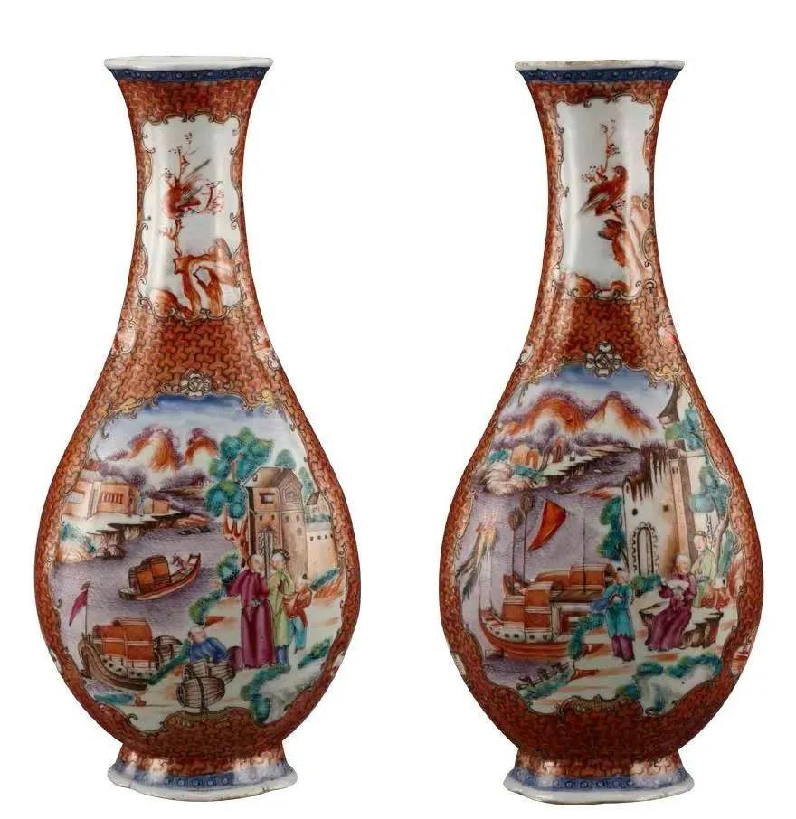 广彩瓷历代人物纹饰