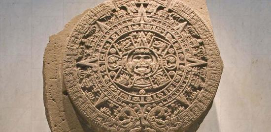 馆内最重磅的展品——太阳历石