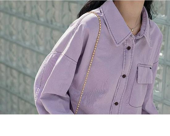 这5套衬衫穿搭,时髦大方又得体!!