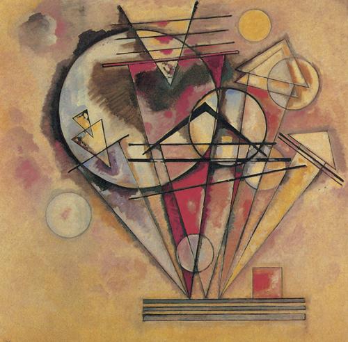 《尖端之上》,1928年,油畫,140厘米×140厘米,巴黎:喬治·蓬皮杜中心