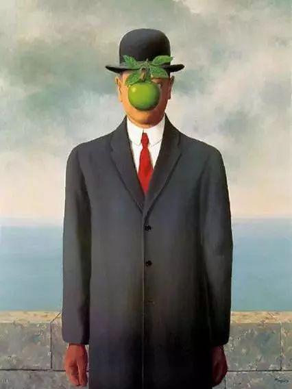 《戴黑帽的男人》