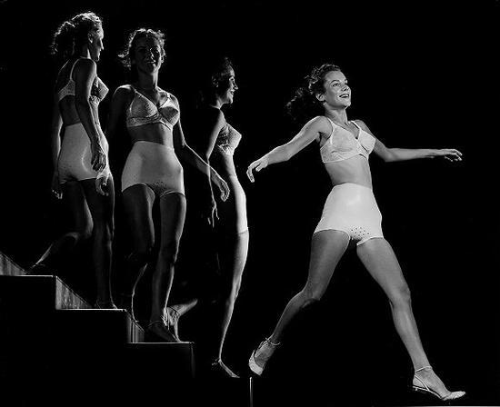 五十年代流行的奶奶内裤 图片来源:GETTY