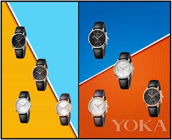 单品推荐:CALVIN KLEIN Posh铂时系列男士腕表 价格店询(图片来源于品牌)