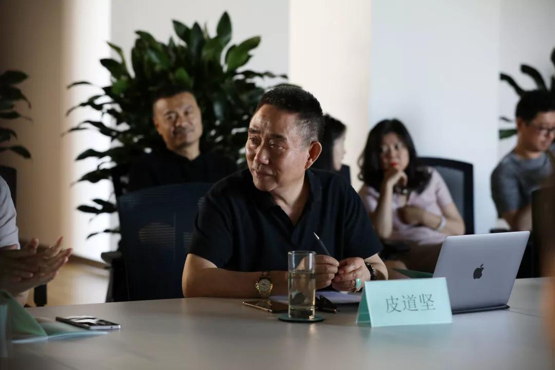 华南师范大学教授、著名美术批评家、策展人皮道坚先生