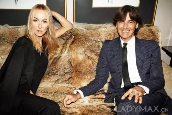 Frida Giannini与Patrizio di Marco从2009年成为恋人,2015年完婚并育有一女
