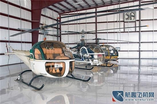 贝尔47直升机