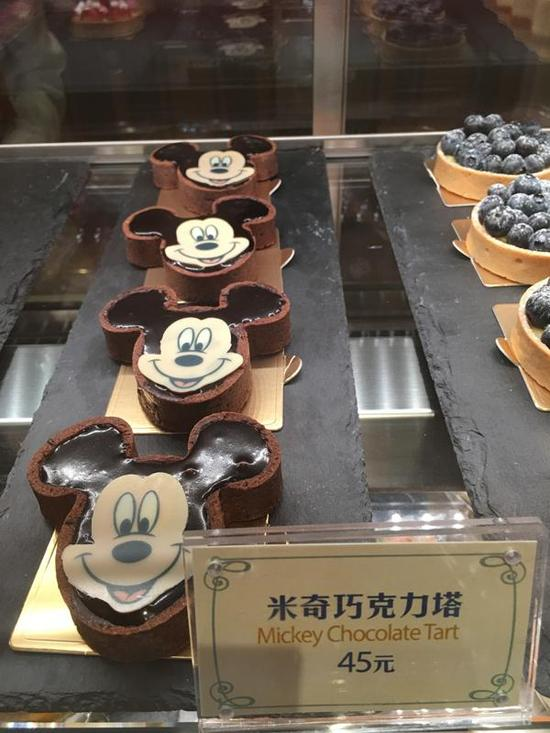 探访上海迪士尼餐厅:35元包子引游客围观(图)