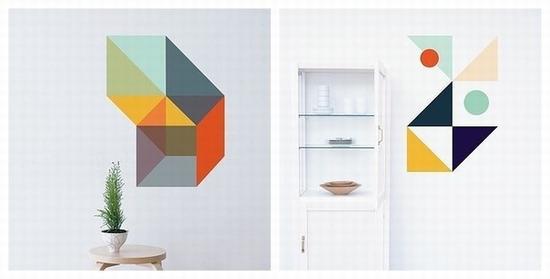 """把墙面当""""画板""""才是你家的正确打开方式图片"""