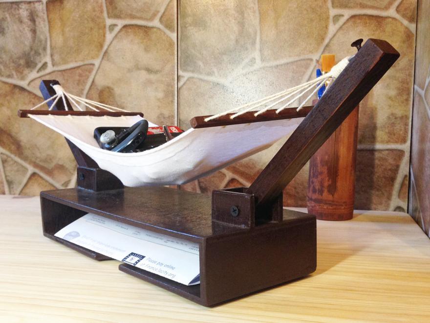 hammock desk organizer