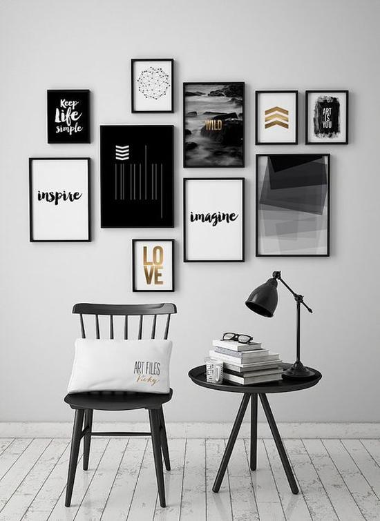 照片墙不只有相框图片