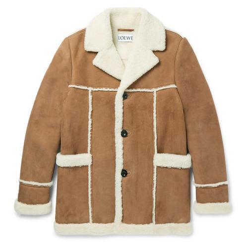 Loewe剪羊毛外衣