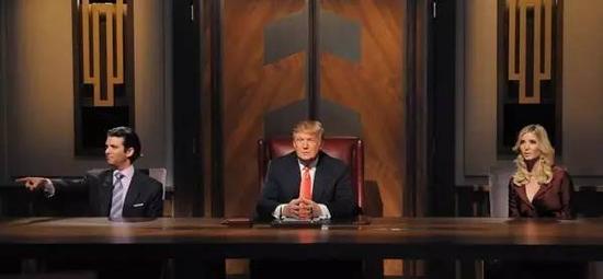 Donald Trump参加的真人秀《学徒》