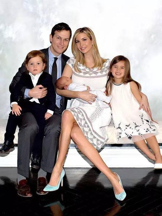 Ivanka和丈夫孩子们