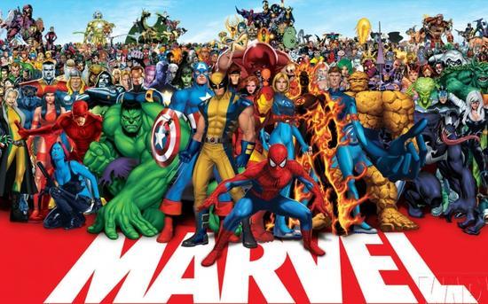 《漫威超级英雄漫画系列》