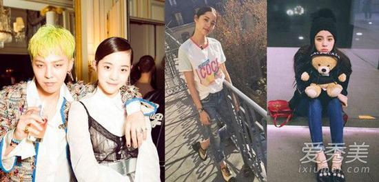 新生代时尚Icon欧阳娜娜的私服穿搭 明星街拍图片