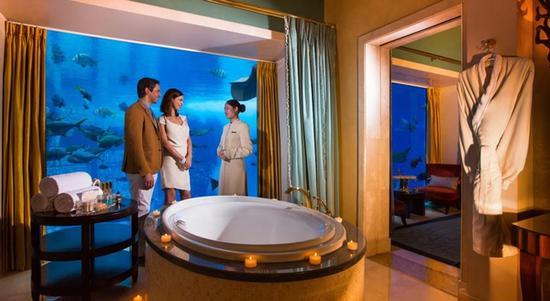 棕榈岛亚特兰蒂斯度假酒店-棕榈岛,迪拜