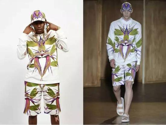 吴奇隆也选了天堂鸟花纹衬衫,街头风要做出高级感不容易,也正因为如此Givenchy是太多国内男明星的心头爱。