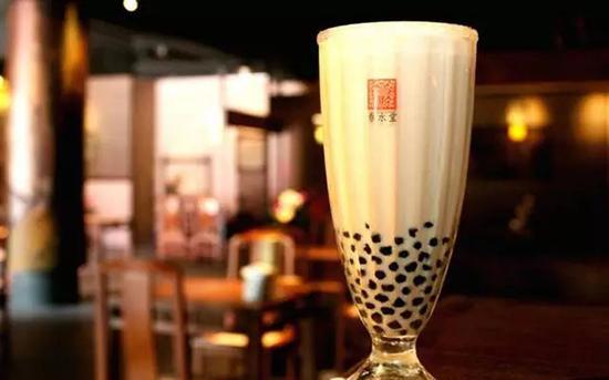 台湾奶茶鼻祖——春水堂的招牌珍珠奶茶