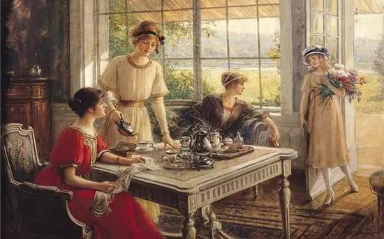英国上流社会的下午茶时间 下午4点开始