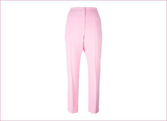 MSGM 粉色西装裤 约 2335 元 from Farfetch