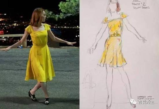 也就是海报上那条飞扬的裙子——