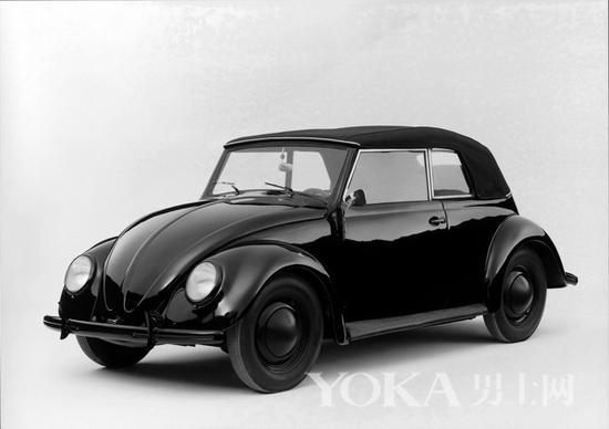1938年第一批甲壳虫敞篷版