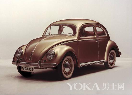 1955年第100万台甲壳虫