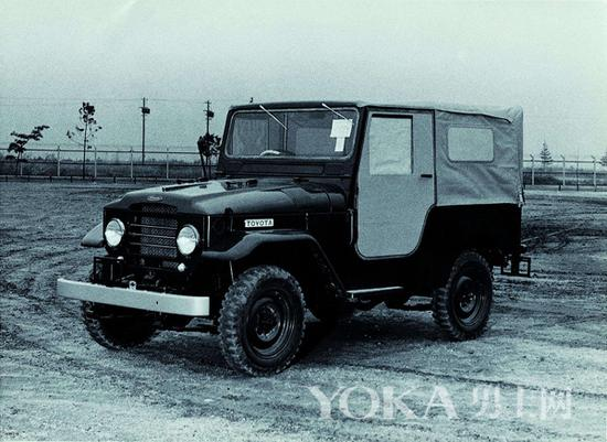 第2代兰德酷路泽(1955年-1959年)