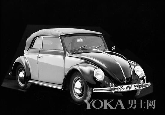 1949年二战后首批甲壳虫敞篷版